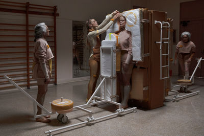 Heavy Duty Love by Lucy McRae at the Venice Biennale. Photography by Brian Overend, Italy