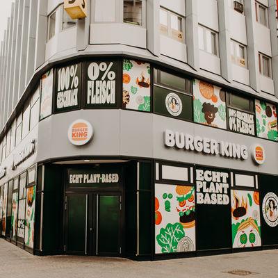 Burger King plant-based restaurant, Germany