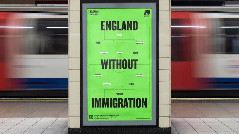 Football Moves People byWonderhoodStudios for the Migration Museum, UK