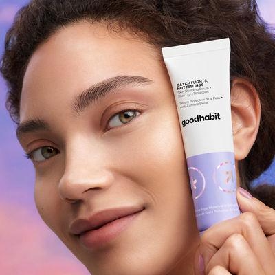 Catch Flights, Not Feelings Skin Shielding Serum by Goodhabit, US