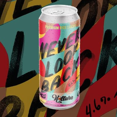 Never Look Back craft beer by Run The Jewels in collaboration with St Petersburg's Green Bench Brewing Co, US