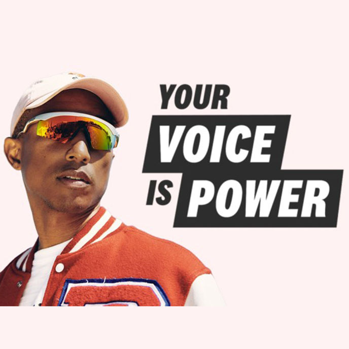Your Voice is Power by Amazon in partnership with Pharrell Williams and Georgia Tech, US