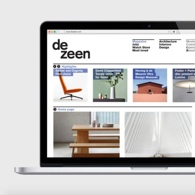 Dezeen makes massive reduction to its website carbon emissions