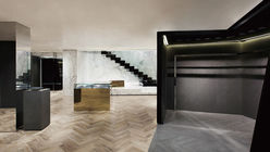 Luxury cemented: New Givenchy store plays with contrasts