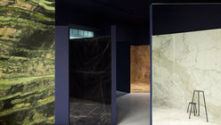 This rocks: Stone showroom given gallery looks