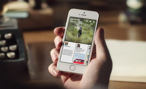 Facebook's Paper app focuses on visual content