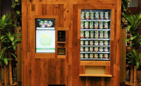 Innovative Chicago vending machine sells fresh salads