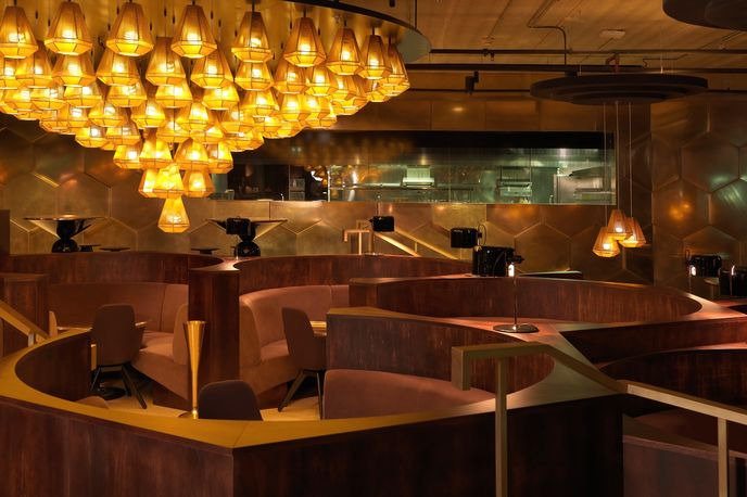 Eclectic Restaurant by Tom Dixon, Paris