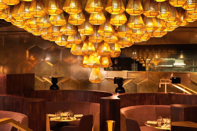Eclectic Restaurant by Tom Dixon, Paris