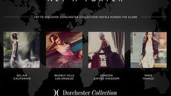 Net-A-Porter creates city guide with The Dorchester