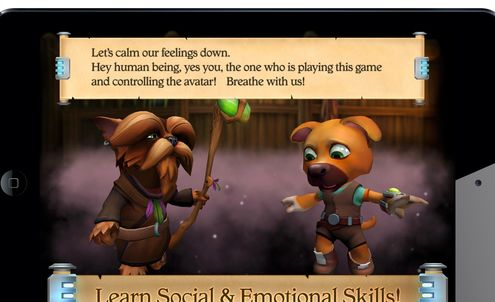Adventure game teaches social and emotional skills