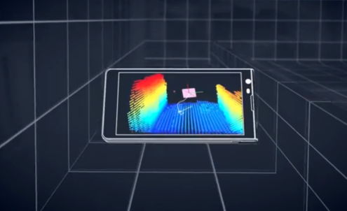 Google explores 3D mapping with prototype phone
