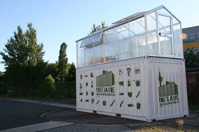 Frisch vom Dach farm, Berlin