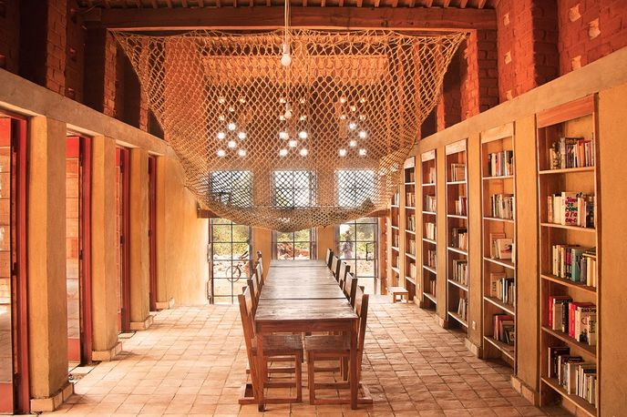 African Library by BC Architects