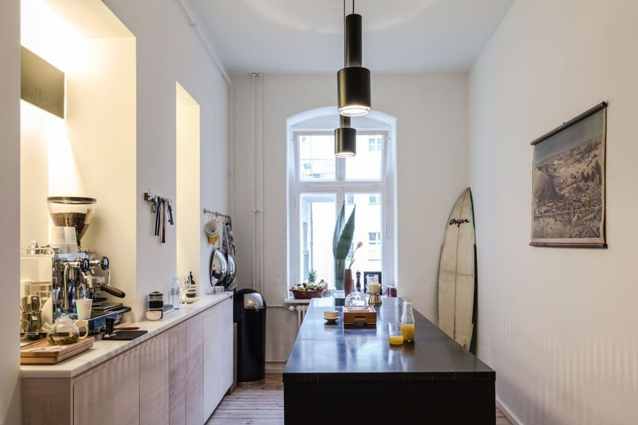 Vitra Berlin lsn the page magazine opens designed berlin flat