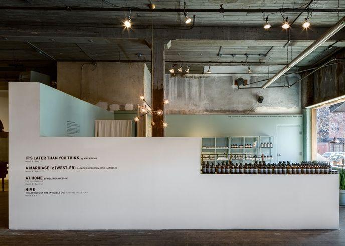 Frida Escobedo's installation for Aesop