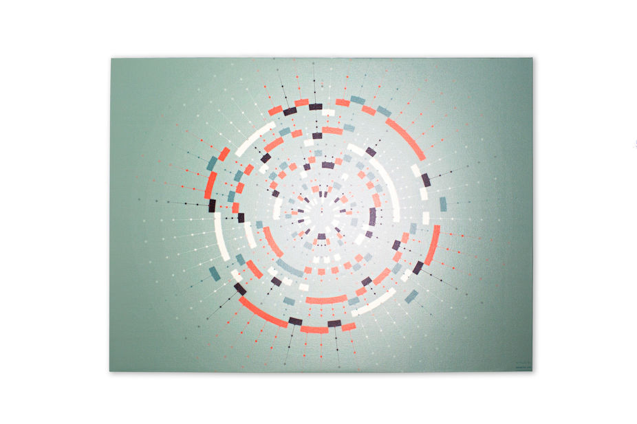 LSN : News : Painted genes: DNA visualised into wall art