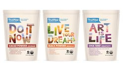 Brand message: Packaging delivers positive vibes