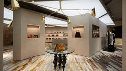 Precision parquetry: Céline's refined gallery store space