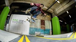 All aboard for the Selfridges and HTC One skate park
