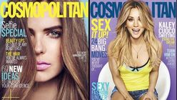 Cosmopolitan blurs the line with advertorial cover