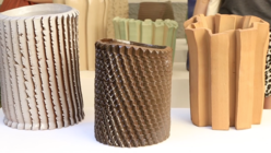 Raw power: Ceramic form follows process in Milan