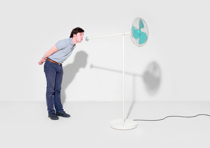 Windblower for ECAL by Victor Férier, Ludovica Gianoni and Danièle Walker