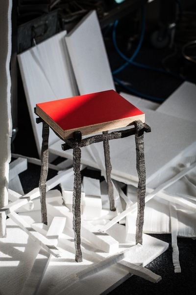 Klaas Kuiken EPS stool. photo by JW Kaldenbach