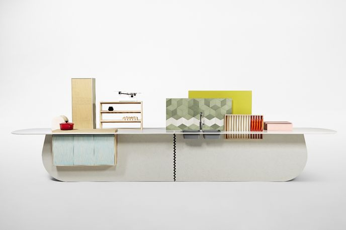 Islands by Raw Edges for Caesarstone