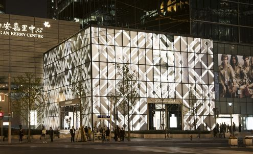 Burberry opens Shanghai flagship store with lavish show