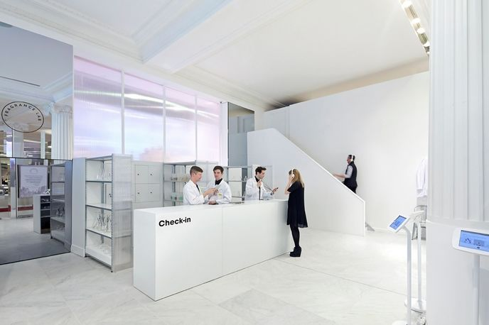 Selfridges fragrance lab by Campaign, The Future Laboratory and Givaudan. Photography by Hufton and Crow