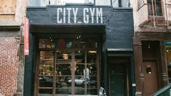 City Gym: Manhattan pop-up embraces old-school athletics