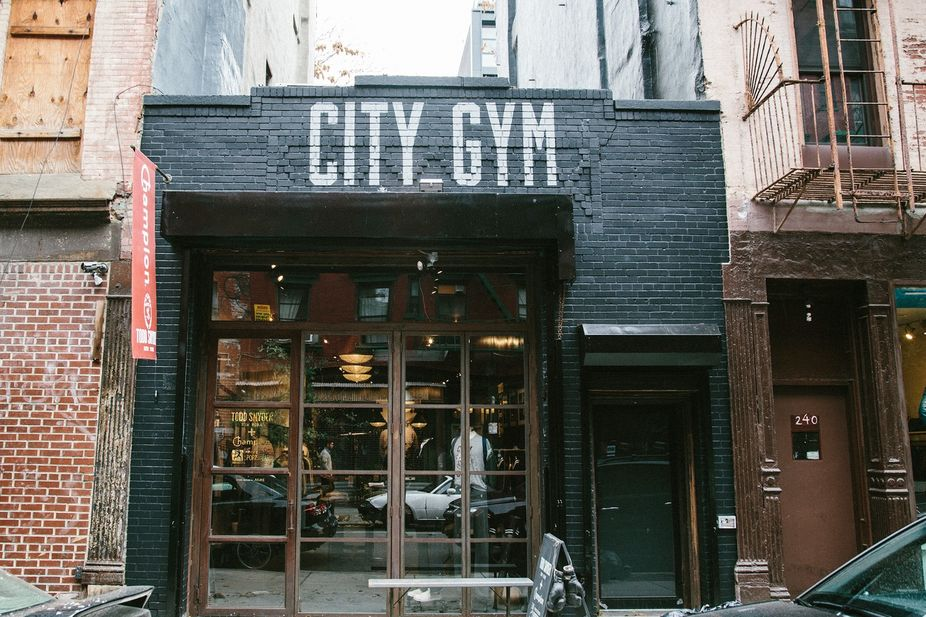 lsn news city gym manhattan pop up embraces old. Black Bedroom Furniture Sets. Home Design Ideas