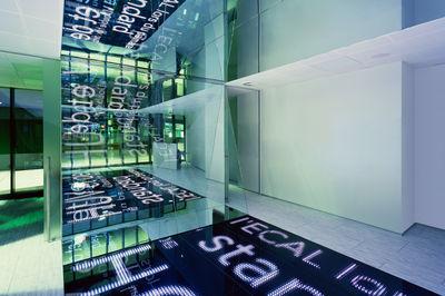 Porte des savoirs by EPFL ECAL lab and ALICE studio , Switzerland