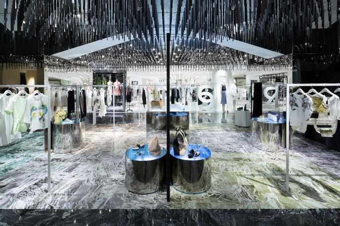 Philip Lim pop up by Schemata Architects