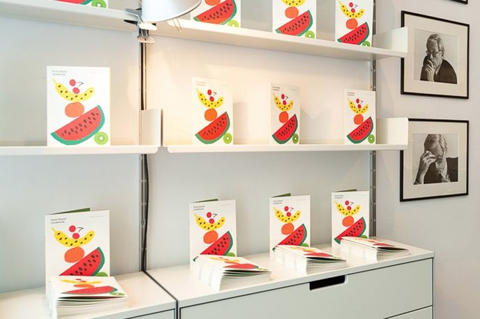 Vitsoe Fruit Stand with The Gourmand, New York