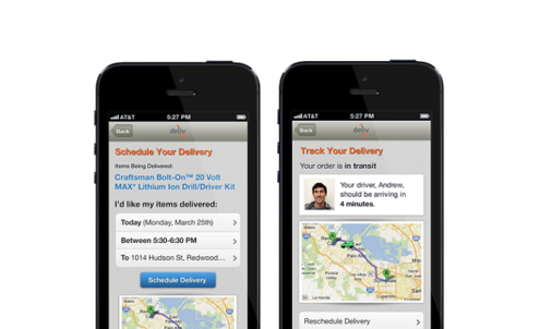 Same-day delivery start-up and mall operators set to disrupt marketplace