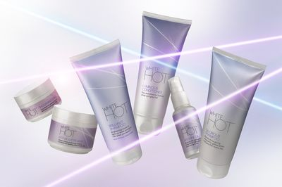 White Hot haircare range