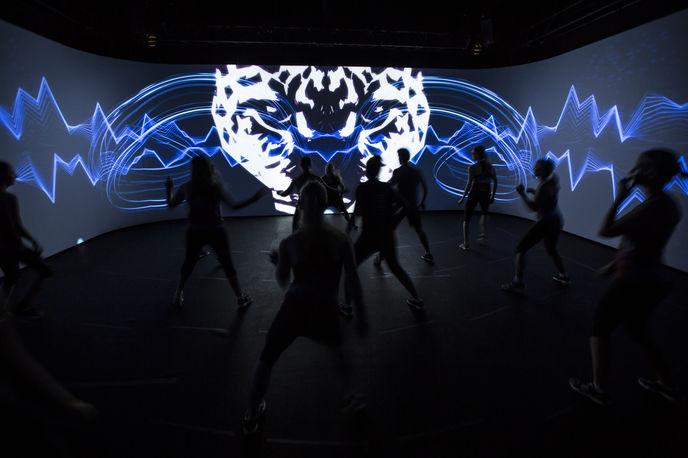 Reebok Immersive fitness event, London