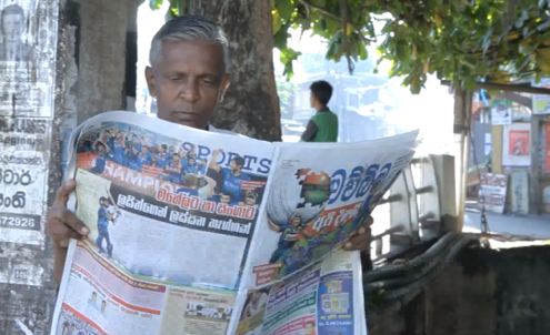 Sri Lankan newspaper launches mosquito-repellent edition
