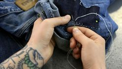 Darned denim: Mending makes a comeback