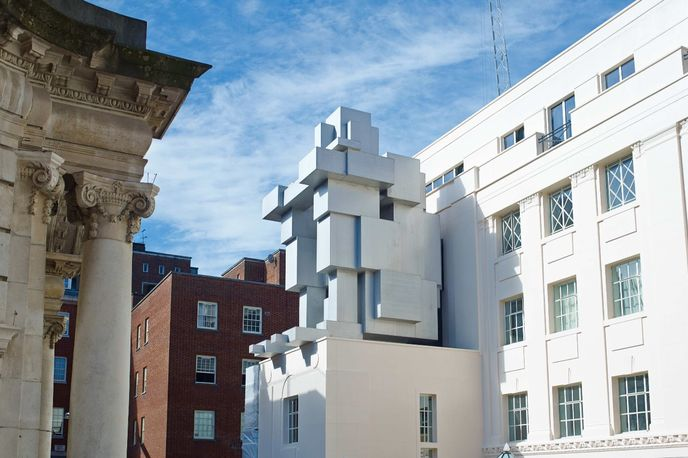 Antony Gormley ROOM at The Beaumont, London