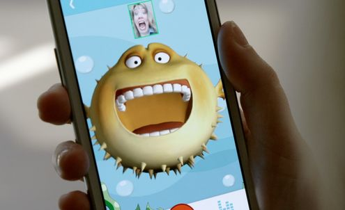 Messaging app turns faces into instant avatars