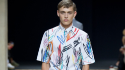 Writ large: Dior Homme gets playful with stylish scribbles