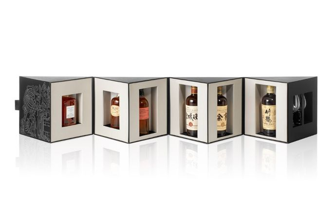Nikka whisky box
