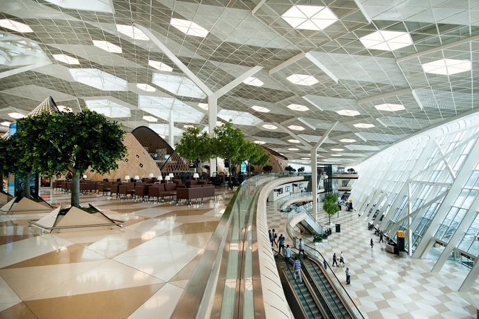 Heydar Aliyev Airport by Autoban studio