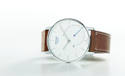 Withings launches smartwatch with classic design cues