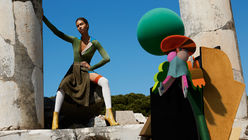Sci-fi femininity: Missoni's AW14 campaign is set in year 2970