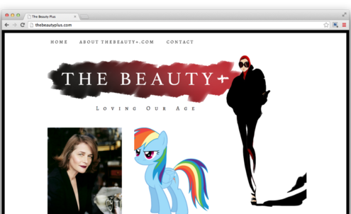 New beauty website targets Flat Agers
