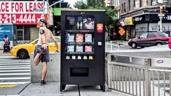 Fit for purpose: Pop-up vending machine only accepts NikeFuel points